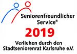 Auszeichnung als seniorenfreundliche Apotheke