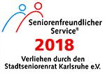 Seniorenfreundlicher Service 2018