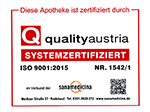 Zertifizierung der Apotheke in Karlsruhe